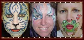 Lisa Smiley, Facepainter